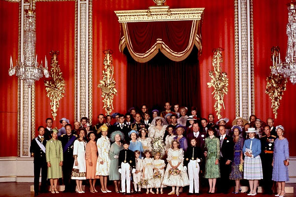 The crowned heads of Europe attend the wedding of Prince Charles and Lady Diana Spencer in 1981. It is extraordinary that so many royal families survived the 20th century. (OFF/AFP/Getty Images)