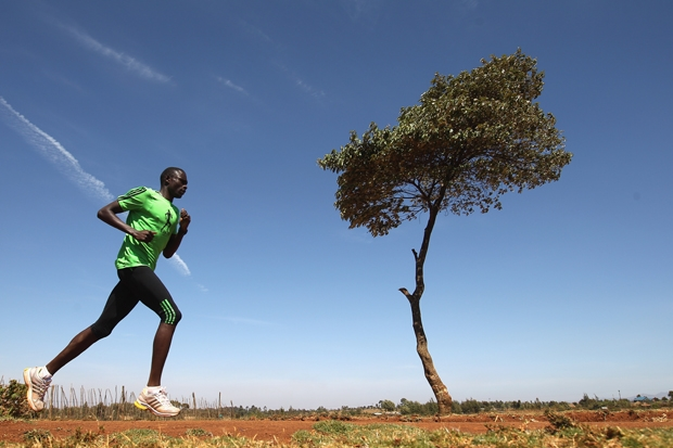 The Catholic missionary and the Masai running champion
