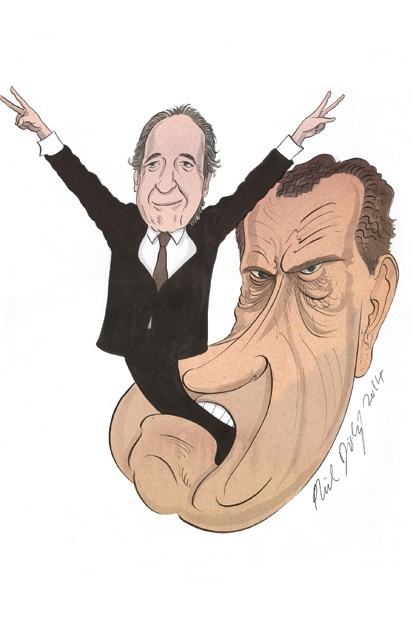 Harry Shearer on bringing out Richard Nixon's feminine side