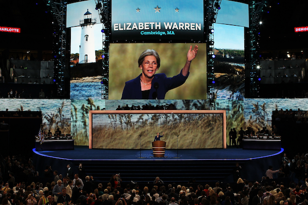 Elizabeth Warren is one of several Democratic Senate candidates who has pulled ahead recently. Picture: Getty Images