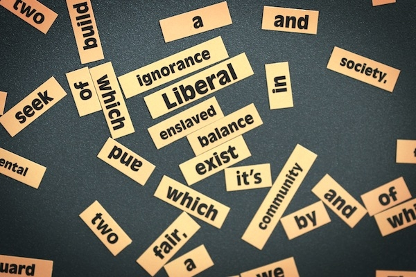Fridge magnets on display at last year's Liberal Democrat autumn conference. Picture: Getty.