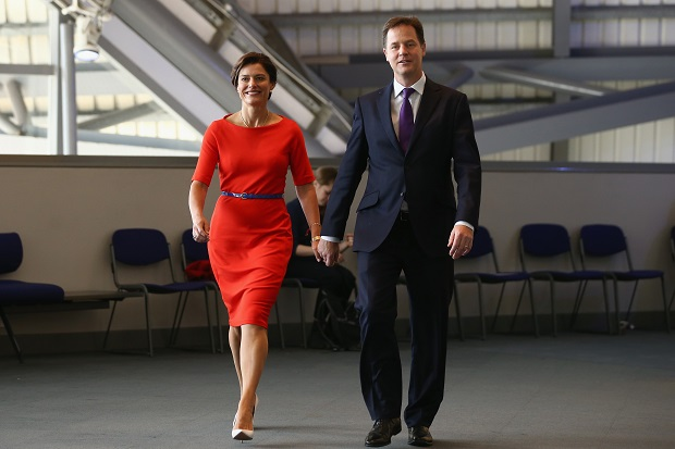 Deputy Prime Minister Nick Clegg Delivers His Keynote Speech At The Liberal Democrat Party Conference