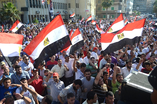 Egyptian supporters of Egypt's Muslim Br