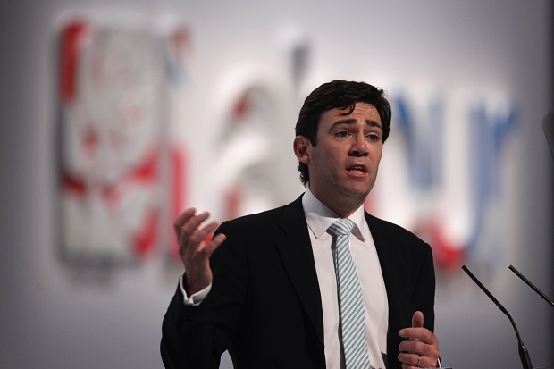Andy Burnham is denigrating one of Labour's greatest policy achievements: the extension of private providers in national healthcare. (Image: Getty)