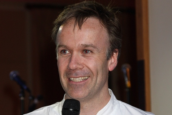 Marcus Wareing broke a 9 year habit last night by finally eating at his restaurant at the Berkeley Hotel. Image: Getty.