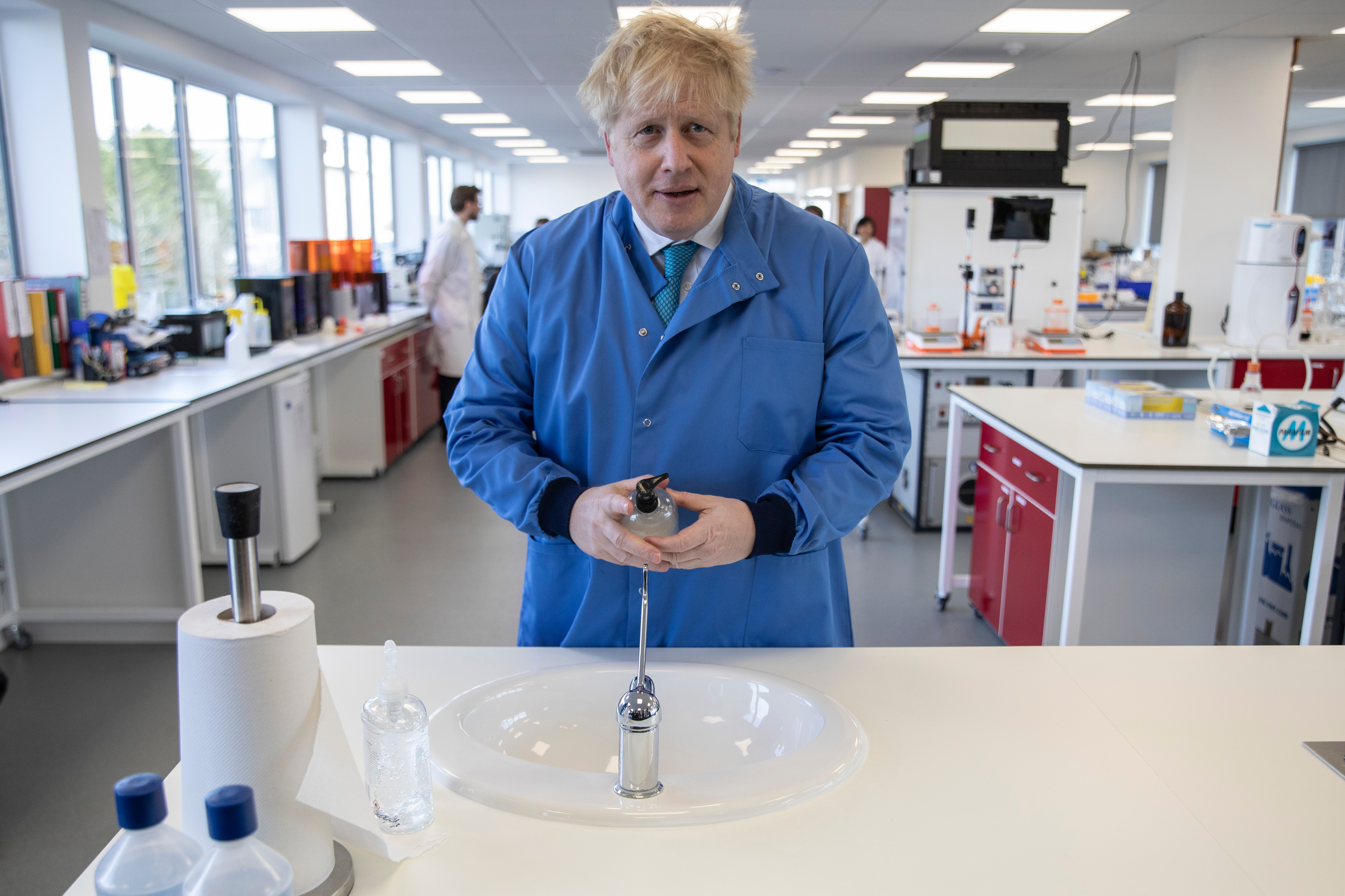 Boris Johnson knows the risk he is taking with his coronavirus strategy