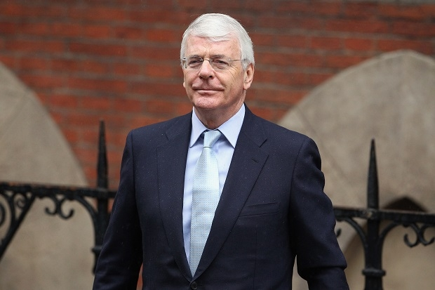 Sir John Major has been doing a lot of talking recently.