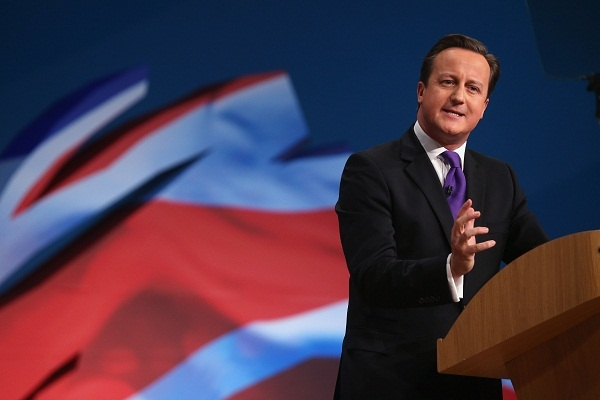 David Cameron has some unpleasant allies in Europe. Image: Getty.
