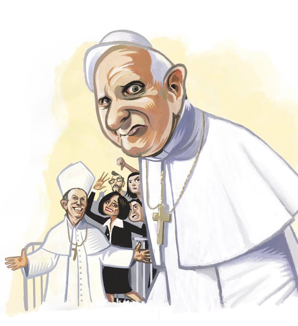 The papal visit is in jeopardy