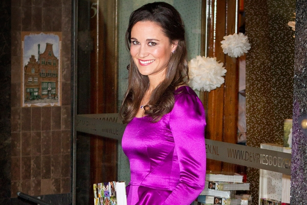 Pippa reveals her talent for fly-fishing and defends her party book, Celebrate. Image: PA