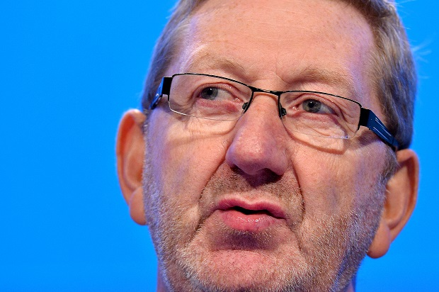 'Red Ed' is the creature of Len McCluskey. (Image: BEN STANSALL/AFP/Getty Images)