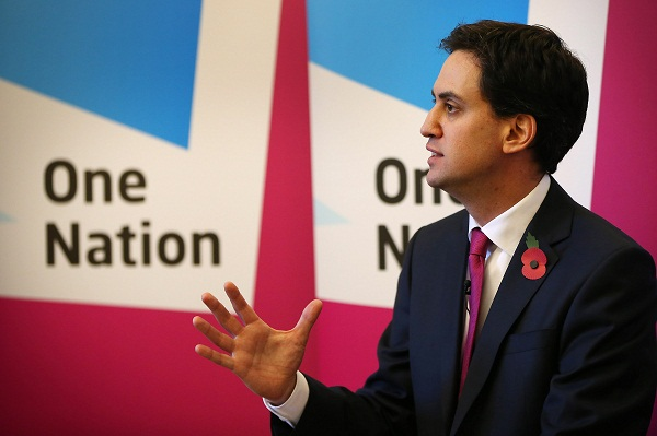 Ed Miliband has gained momentum from the Corby by-election result. Image: Getty.