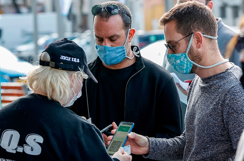 In Israel, vaccine passports are already redundant