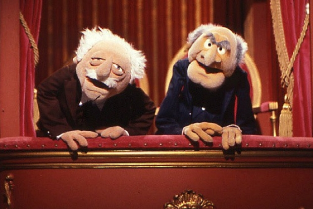 Balls and Miliband in their muppet guise?
