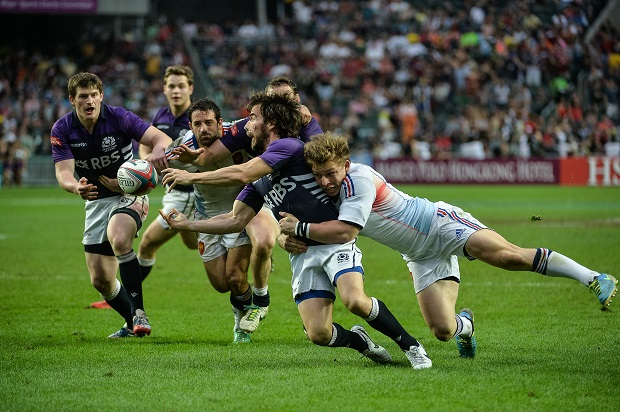 The Scots were booed at Twickenham last weekend. (PHILIPPE LOPEZ/AFP/Getty Images)