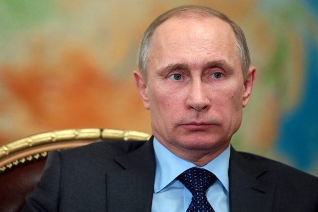 President Putin strives to project strength but he is a limited politician (Photo: Mikhail Metzel/AFP/Getty)