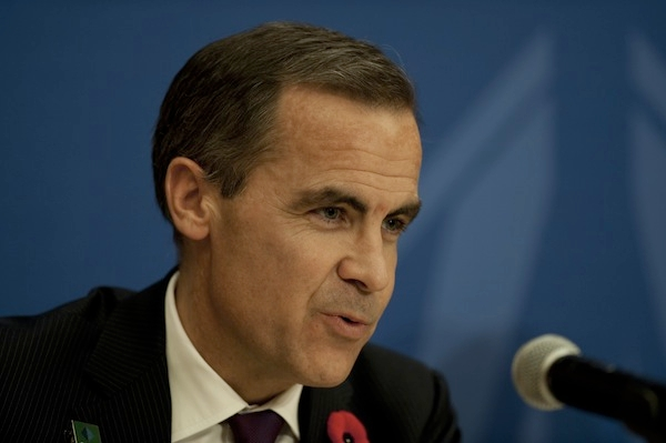 Mark Carney, governor of the Bank of Canada, has been appointed the next Governor of the Bank of England. Picture: Getty