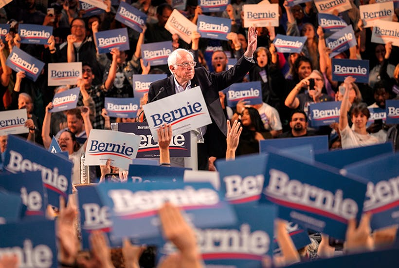 The best news for Bernie is that his rivals are so weak