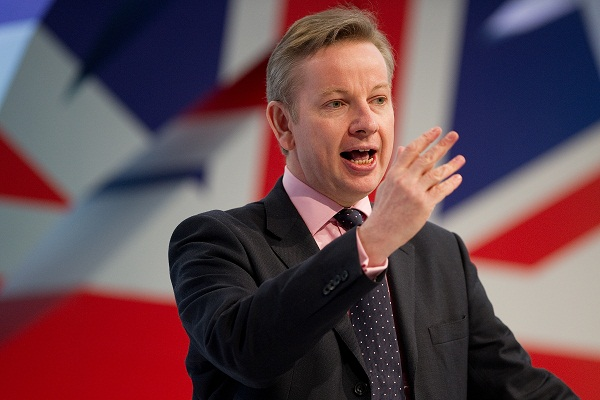 Michael Gove has demanded that the Labour leadership apologise to a schoolgirl heckled at the Labour conference for going to an Academy. Image: Getty.