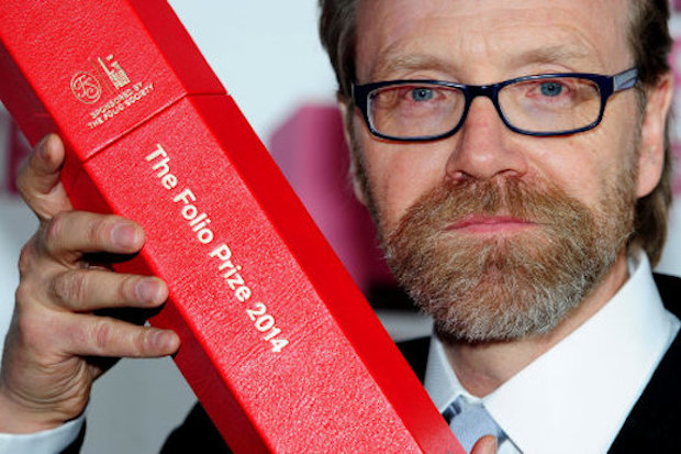 George Saunders wins the Folio Prize for his book Tenth Of December. Photo: Ian West/PA Wire