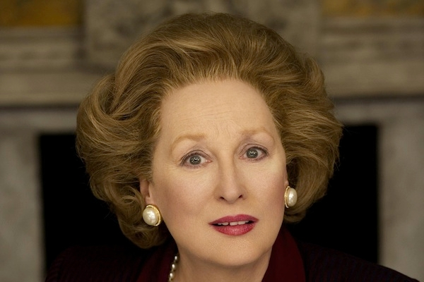 Meryl Streep as Margaret Thatcher in 'The Iron Lady'. Image: PA