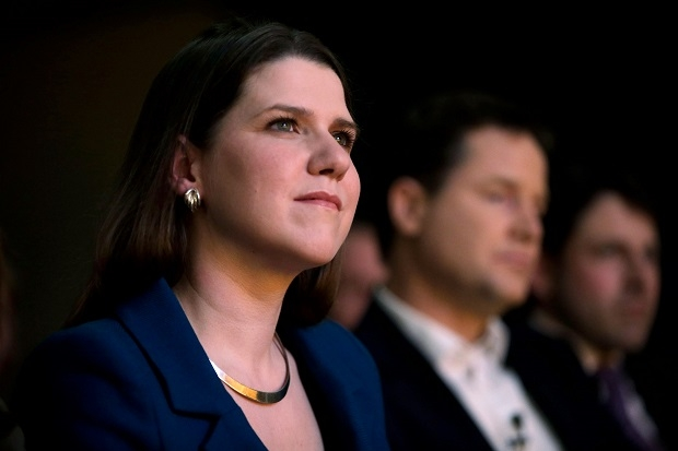 Liberal Democrat Leader Nick Clegg Makes A Speech At The Party's Spring Conference On International Women's Day