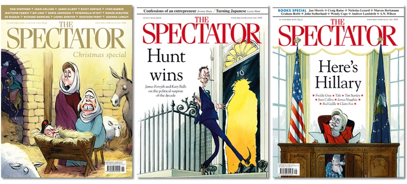 Spectator covers that almost were