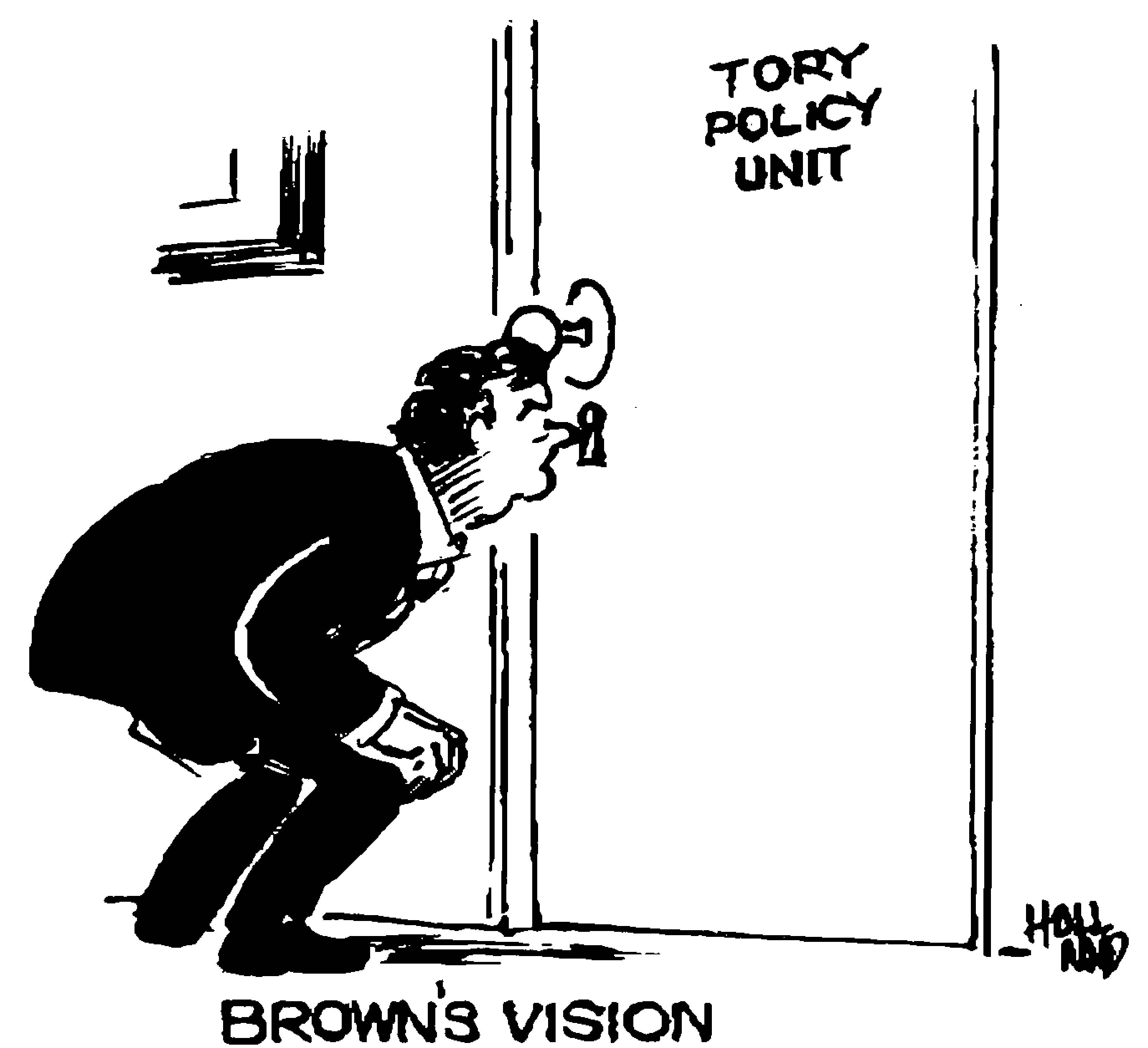 'The largest thorn in the side of Gordon Brown'