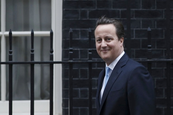 David Cameron said an in/out referendum 'today is a false choice'. Picture: Getty