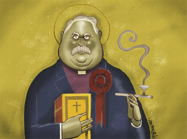 The Revd Paul Flowers ticked all the right 'progressive' boxes — that's why he could get away with anything