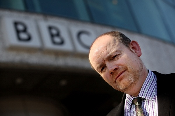 Why has ex-BBC DG Mark Thompson been re-scheduling his meetings? Image: Getty