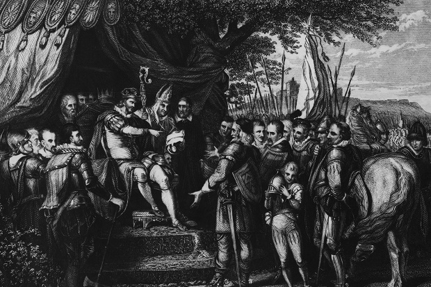 King John signs Magna Carta. Was this the defining moment in English history?