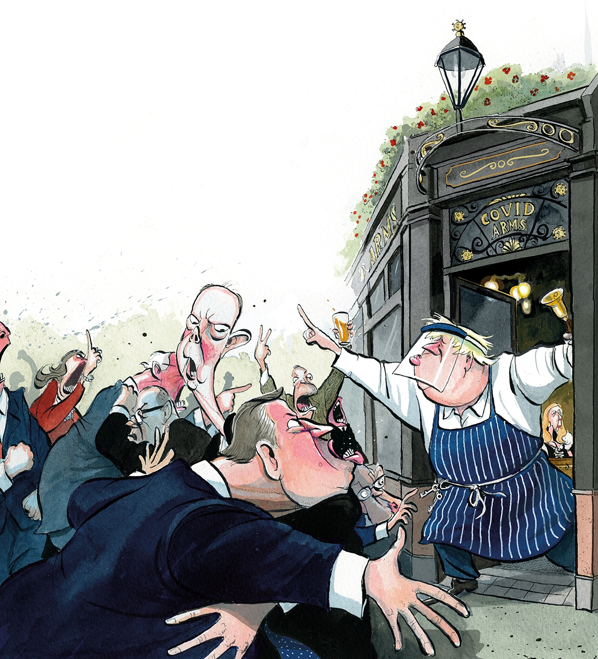 Closing time: the coming Tory brawl over Covid rules
