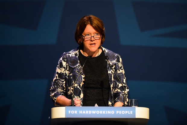 Maria Miller's support is vanishing as press moves in for the kill. (PAUL ELLIS/AFP/Getty Images)