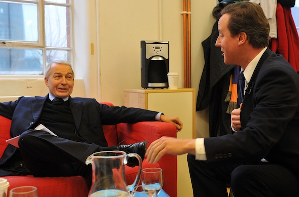 Frank Field will David Cameron in the days when the Labour MP worked closely with the Tory leader on anti-poverty policy. Picture: Getty