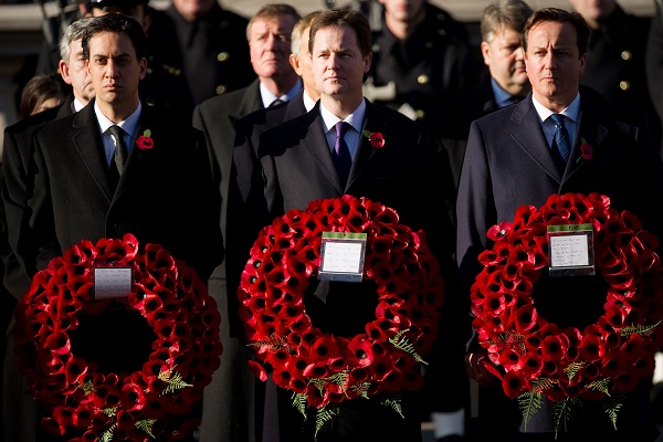 Is there any proper need to wear a poppy before 1st November? Image: Getty.