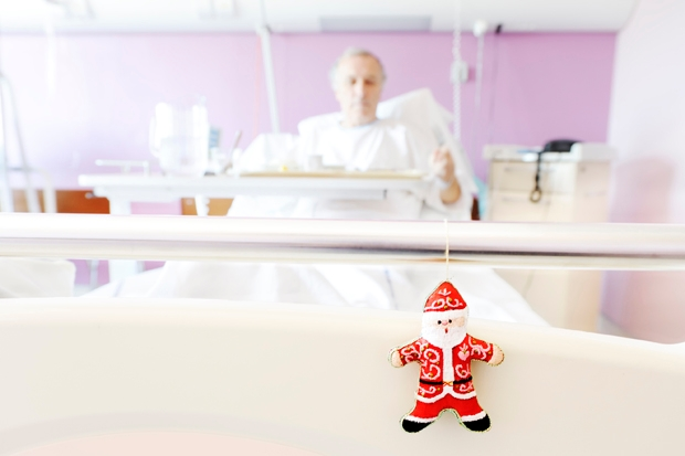 My surreal Christmas in hospital with a dangerously ill child