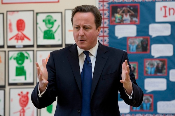 David Cameron admitted today that the government has a 'hard, technocratic' message. Picture: Getty