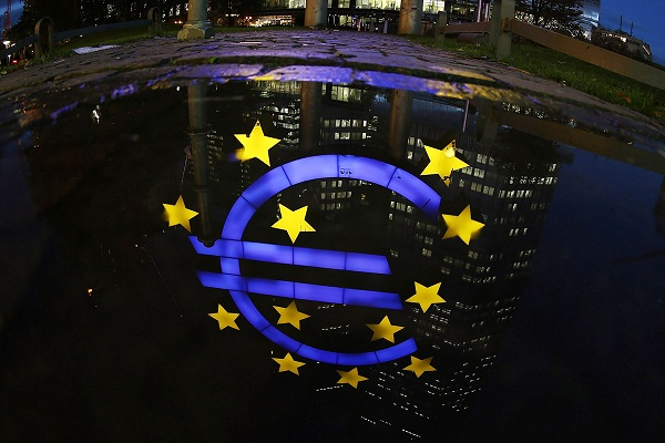 Time for a double dip? Today's figures suggest that the Eurozone is back in recession.