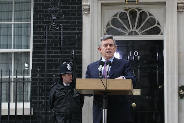 Could Gordon Brown remained in Downing Street if he had called the election in 2007? Photo: Getty Images.