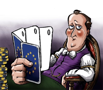 The secret of David Cameron's Europe strategy: he doesn't have one