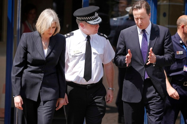 David Cameron and Theresa May have big weeks ahead of them when it comes to European issues. Picture: Getty