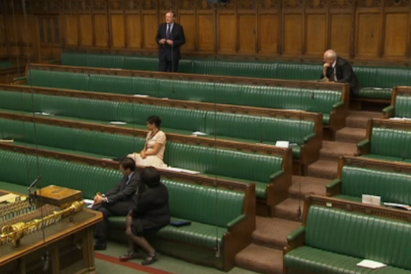 MPs discuss their own struggles with mental health in a Commons debate. Picture: Getty.