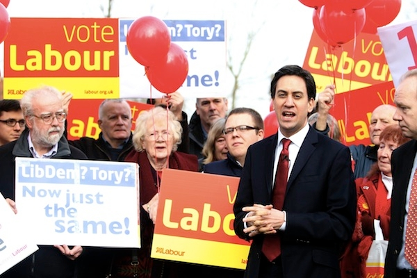Can Ed Miliband convince more than just loyal supporters in the south to Vote Labour? Photo: PA