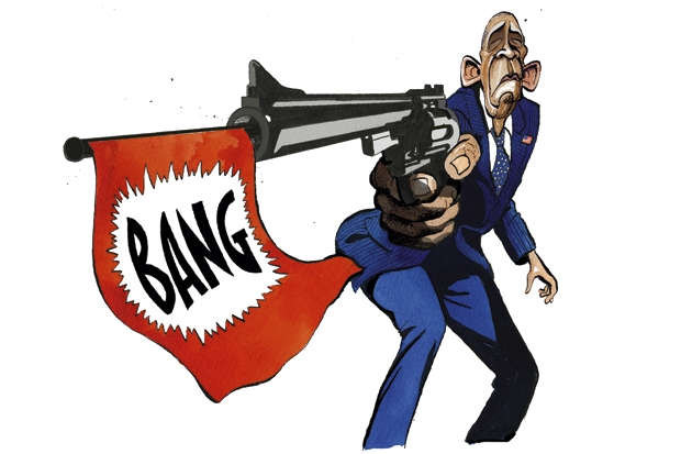 Why zig-zagging Obama can't be taken seriously on Syria