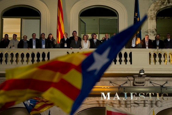 Following yesterday's election, separatists now control the Catalan parliament. Image: Getty