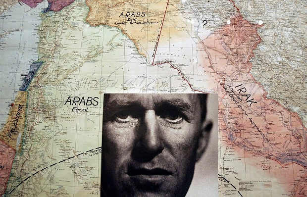 T.E. Lawrence's vision of Arabia.