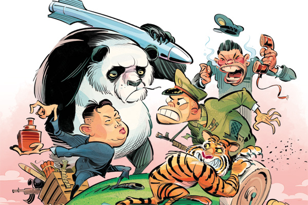 East vs East - Asia's new arms race