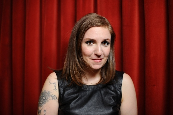Lena Dunham is making money by being a voice of a generation of women. Image: Getty.