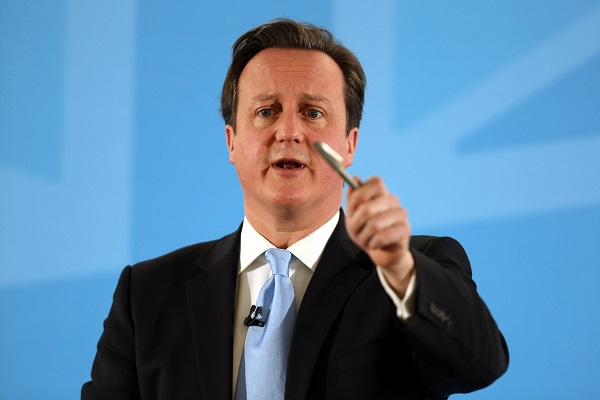 David Cameron's speech on immigration in Ipswich has failed to caspture the media's attention. (Chris Radburn/AFP/Getty Images)